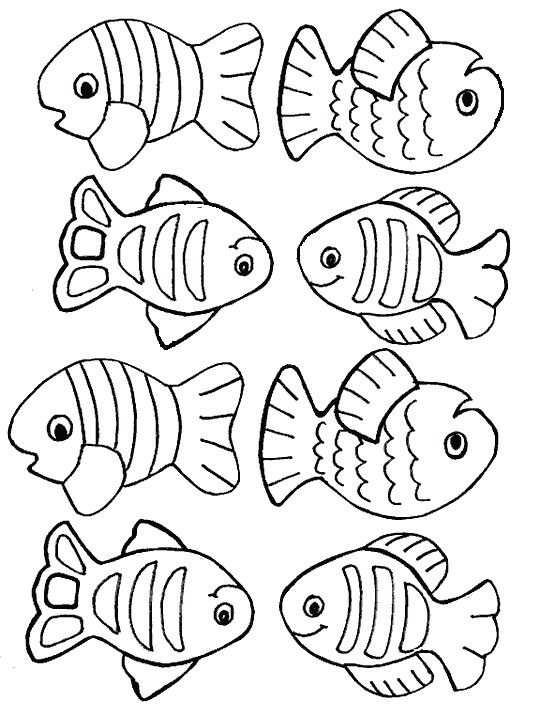 Pin Van Nurit Got W Op 10 Nature Kleurplaten Vissen Zomerknutsels
