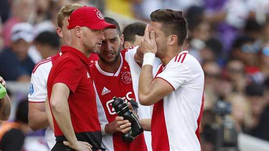 Kleurplaat Ajax Spelers