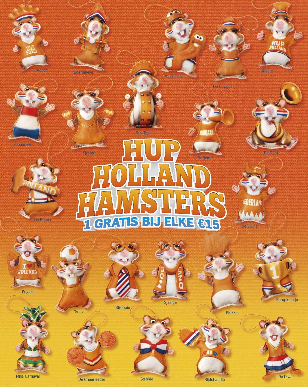 Legioen Oranje Hamsters Support Nederlands Elftal Tijdens Wk