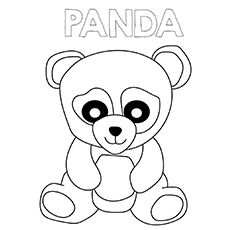Top 25 Free Printable Cute Panda Bear Coloring Pages Online With