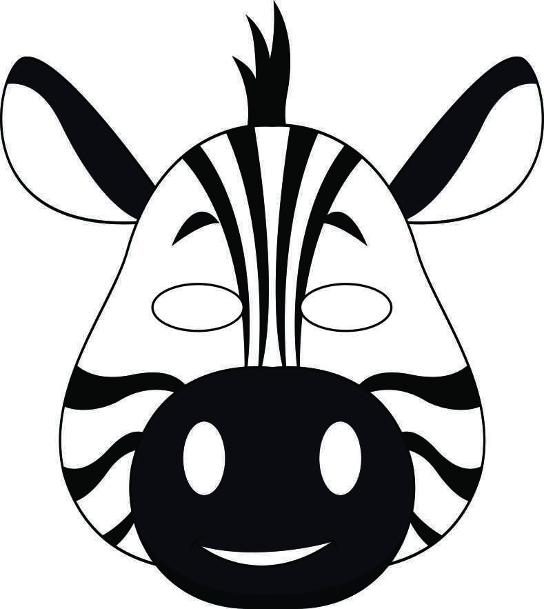 Zebra Outline To Colour With Images Zebra Coloring Pages