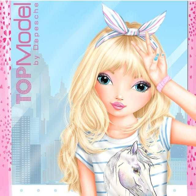 Candy Die Romantische Madchenzeichnungen Models Topmodel