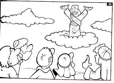 Wederkomst Of Hemelvaart Met Afbeeldingen Bijbel Kleurplaten