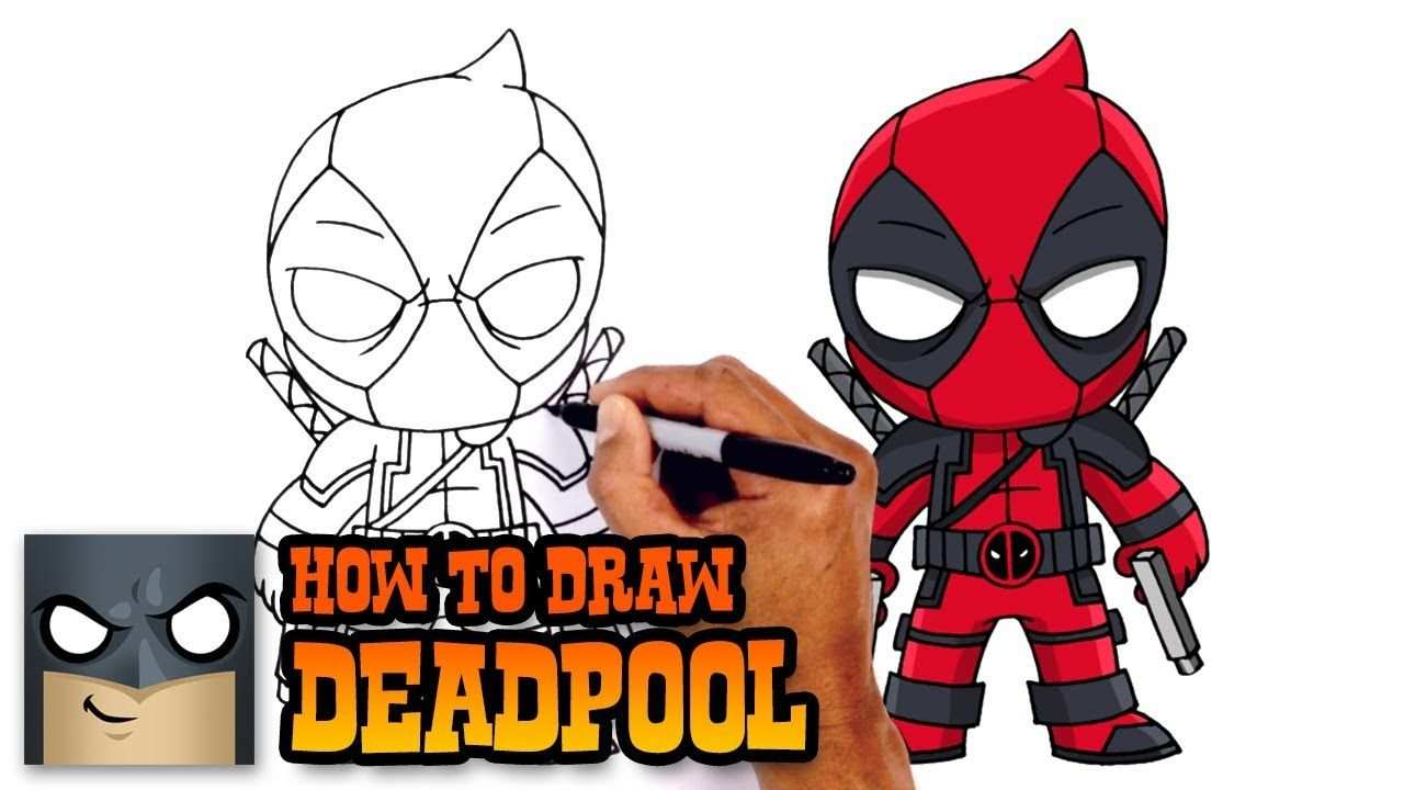How To Draw Deadpool Deadpool 2 With Images Drawing