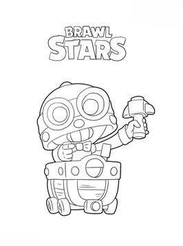 Kids N Fun Com 26 Coloring Pages Of Brawl Stars