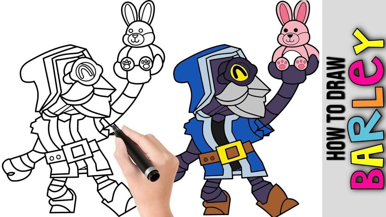 How To Draw Wizard Barley From Brawl Stars Cute Easy Drawings