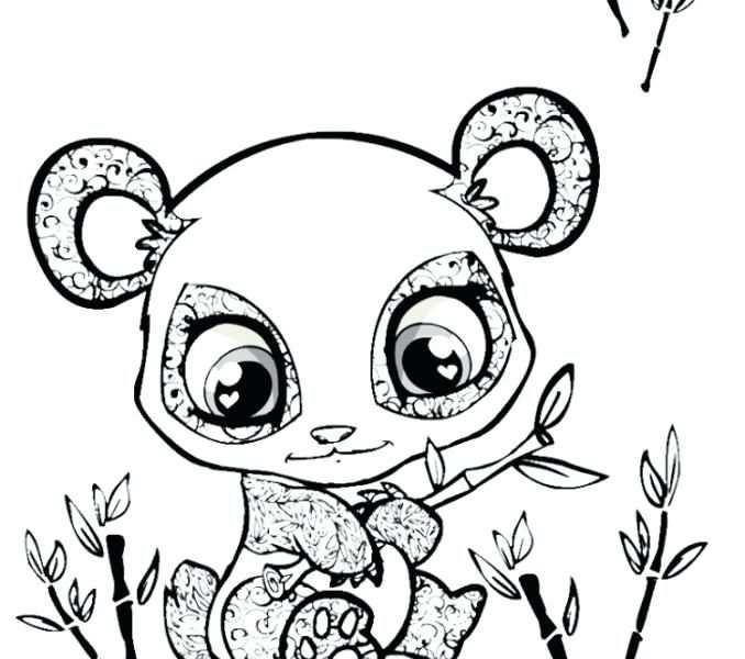 678x600 Cute Baby Animal Coloring Pages Met Afbeeldingen