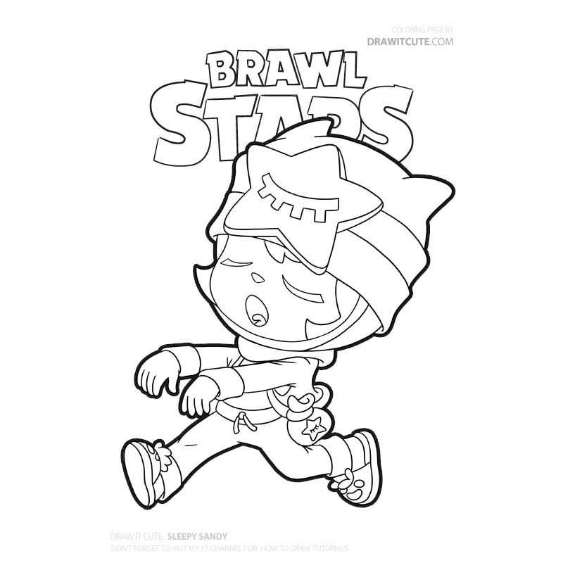 coloring kleurplaat brawl stars weerwolf leon
