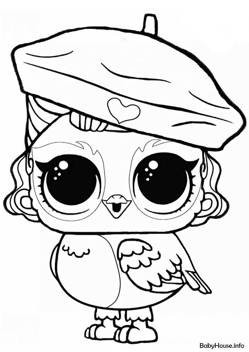 L O L Angel Wings Puppy Coloring Pages Cute Coloring Pages