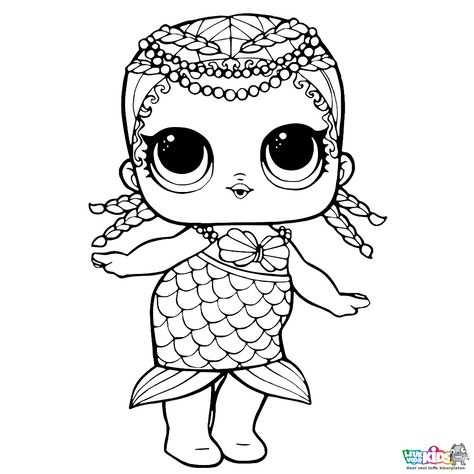 Leuk Voor Kids L O L Surprise Dolls Pets Kleurplaat