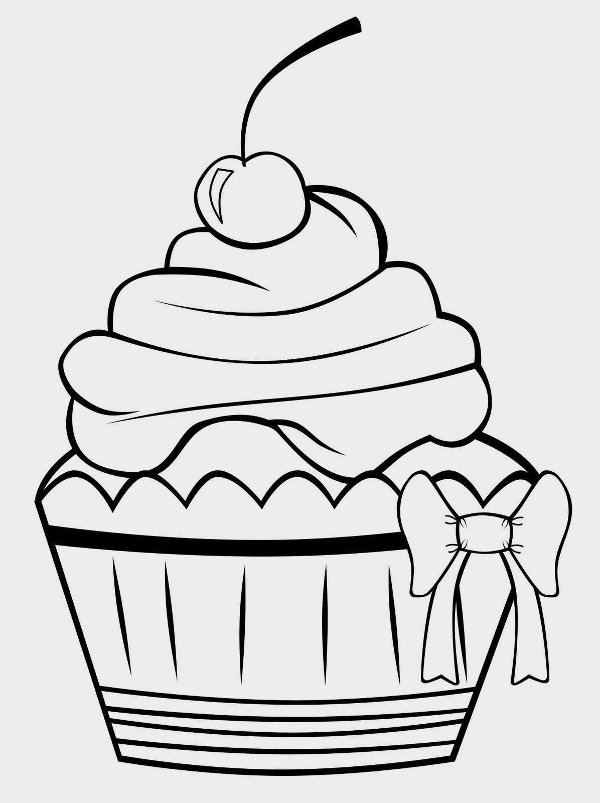 Znalezione Obrazy Dla Zapytania Cupcake Kleurplaat Le Idee Della