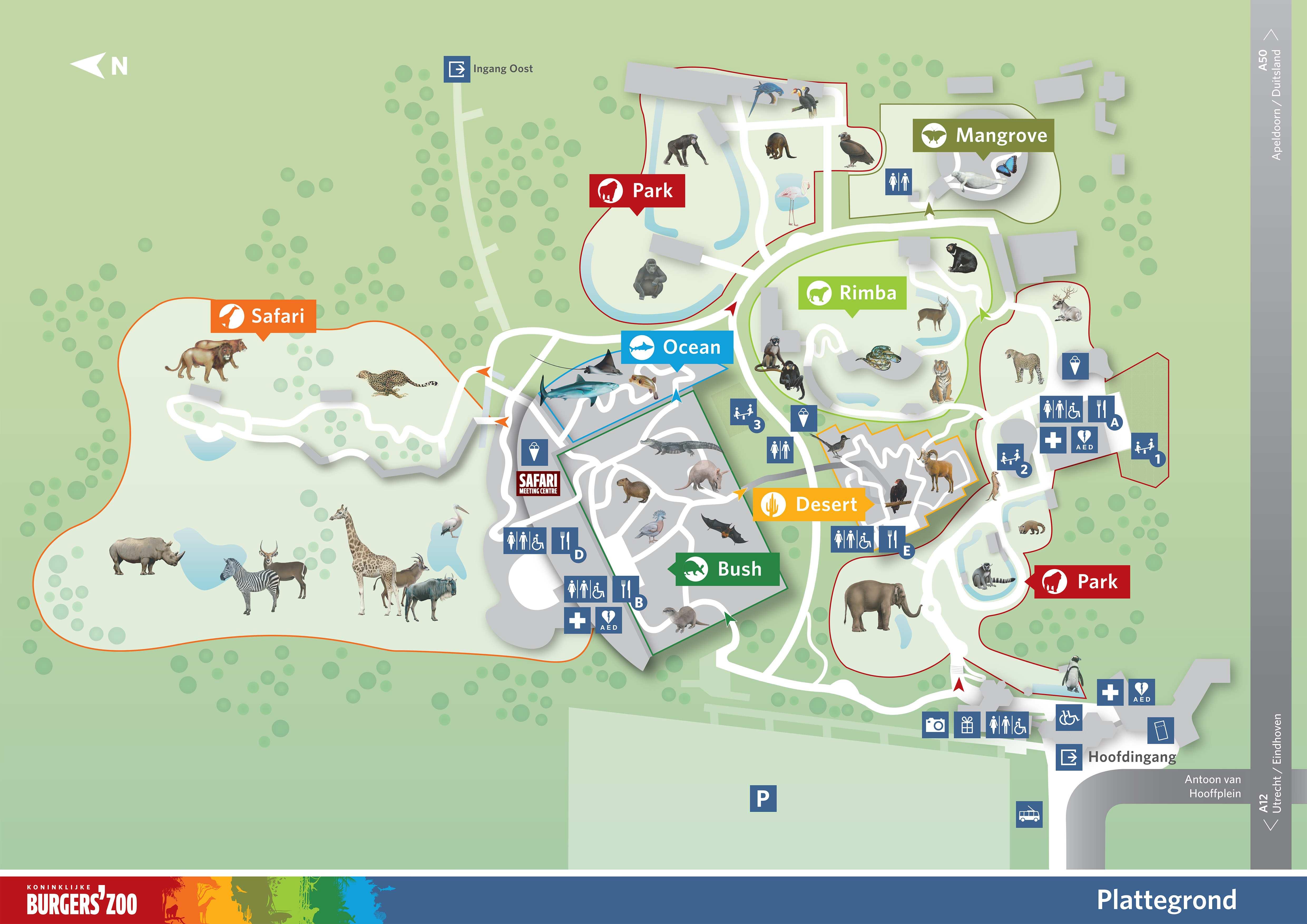 Bedankt Voor Uw Aanvraag Rondleiding Burgers Zoo In Arnhem