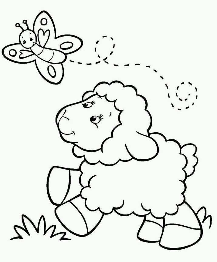 dieren tekening dieren kleurplaat lente