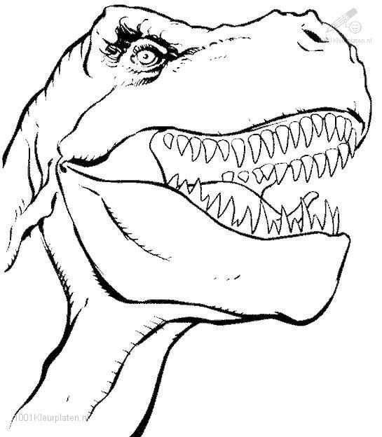 Free Coloring Dinosaur Pages Animals Dinosaurs
