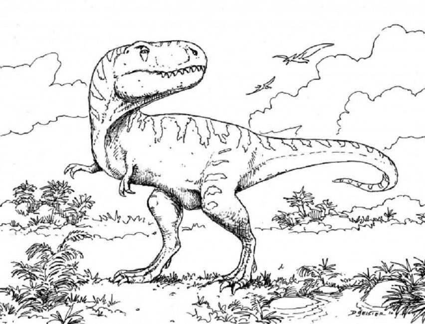 Lego Dinosaur Coloring Pages Kleurplaten Kleurboek Dinosaurus