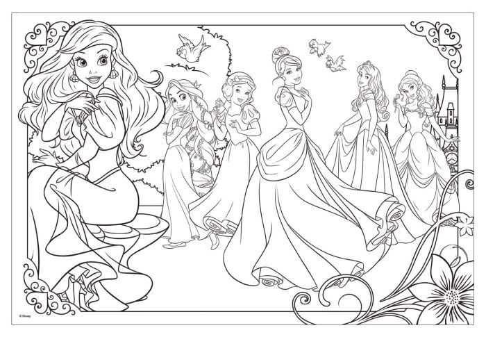 Kleurplaat Disney Prinses Idee 235 N Kleurpagina S Voor Kinderen
