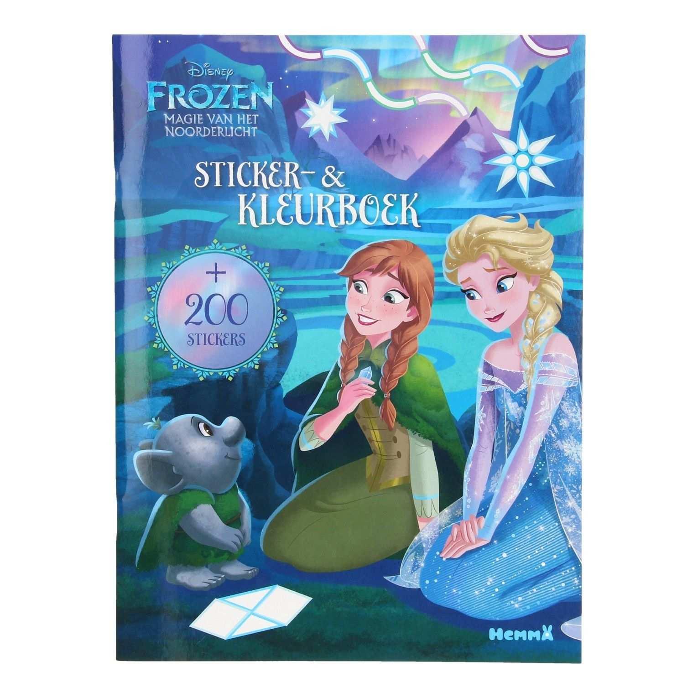 Disney Frozen Sticker En Kleurboek Kleurboek Disney En Stickers