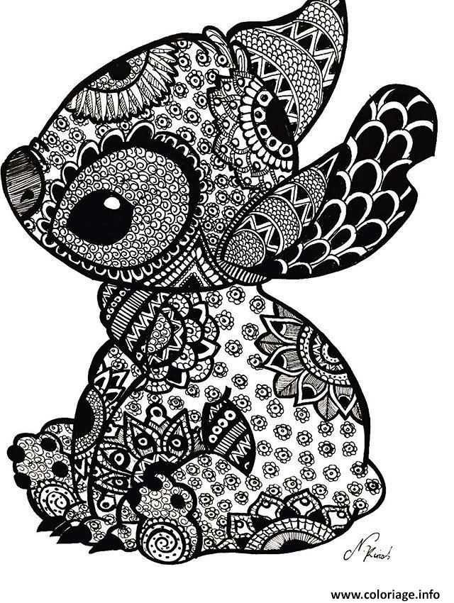 1496423676mandala Disney Stitch Tattoo Jpg 640 850 Pixels Met