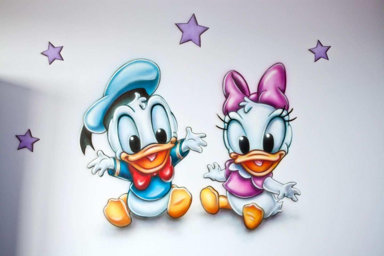 Disney Baby S Muurschildering Disney Baby S Tekeningen Disney