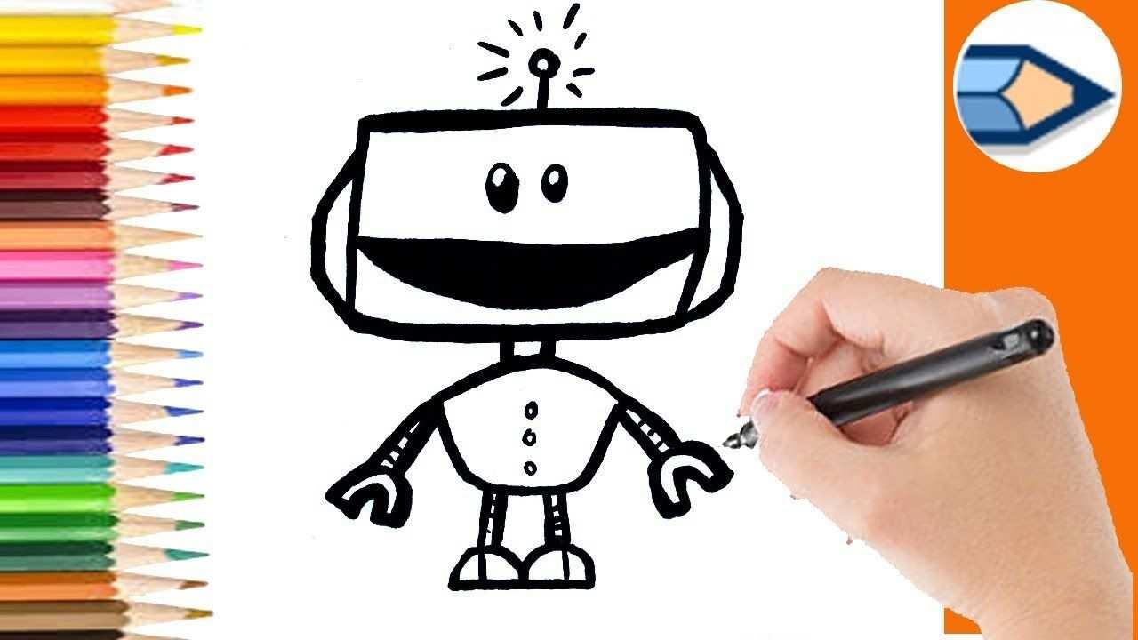 Hoe Teken Je Een Robot Makkelijk Stap Voor Stap Leer Tekenen