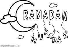Printable Ramadan Mubarak Coloringpages For Kids Free Online