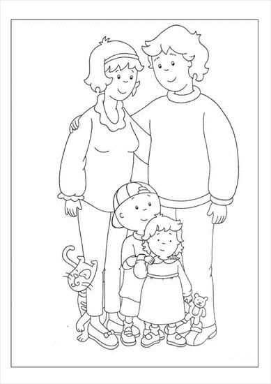 Rodzina1 Kleurplaten Mijn Familie En Moederdag