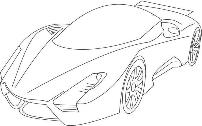 Sport Bugatti Veyron Coloring Page Bugatti Veyron Bugatti