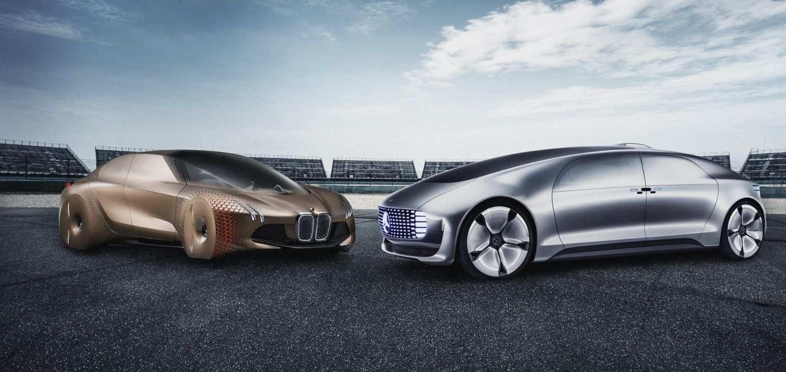 Bmw And Mercedes Benz Partner On Next Gen Autonomous Vehicles