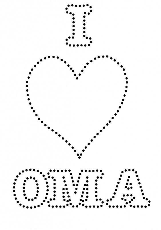 I Love Oma Met Afbeeldingen Knutselen Voor Oma Knutselen Opa