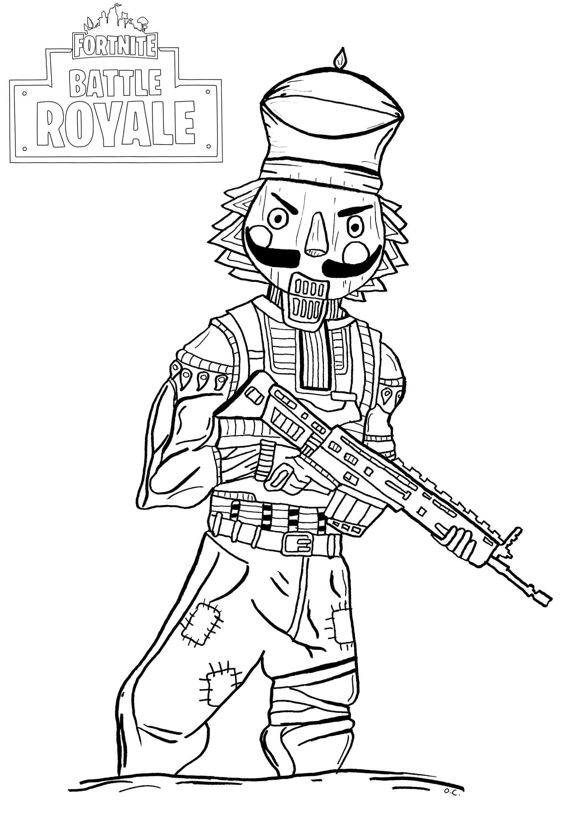 25 Fortnite Coloring Pages Dark Voyager With Images Coloring