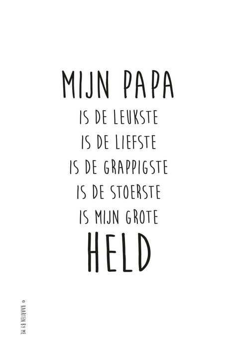 Pin Van Rhode Murre Op Papa In 2020 Vaderdag Vaderdag