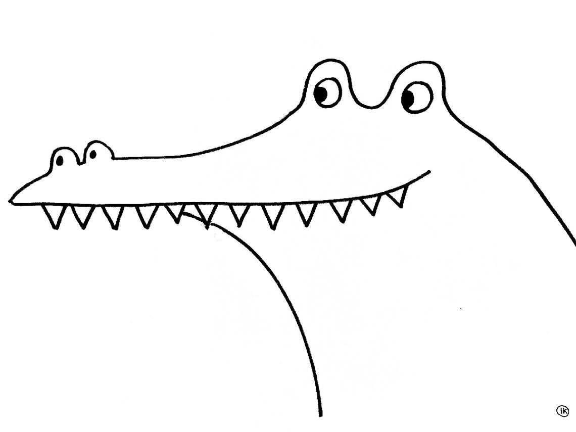 Hugo De Krokodil Zoekt Vrienden Hugo Een Vreselijk Eng Beest