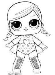 Image Result For Lol Surprise Doll Coloring Sheet Superbaby