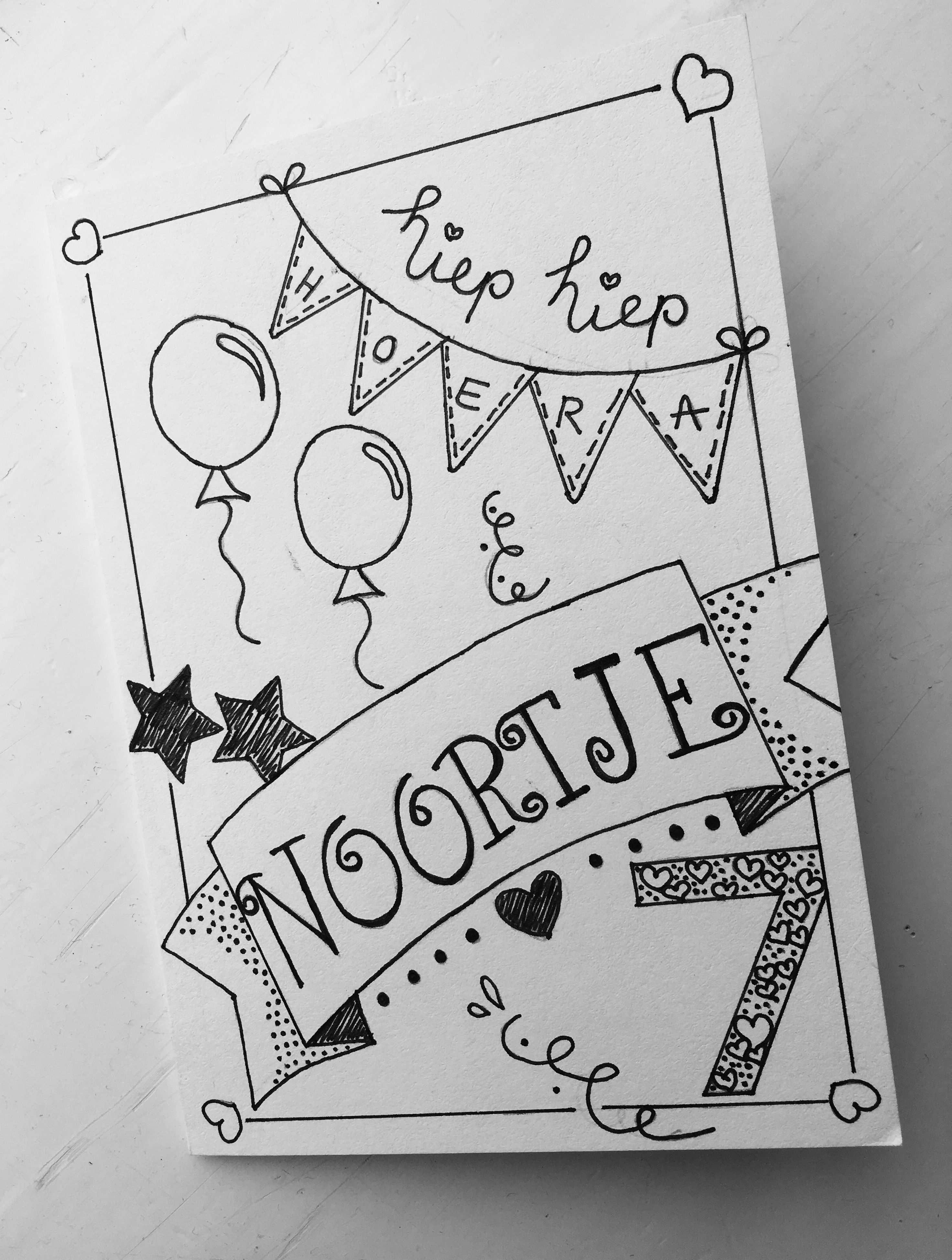 Label123 Verjaardagskaart Noortje Kaart Ideeen Verjaardag