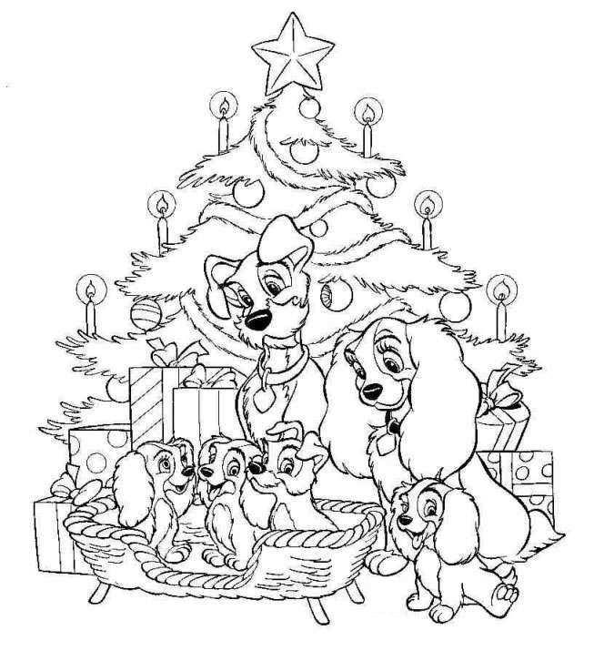 Disney Coloring Pages Kleurplaten Disney Kleurplaten Kerstmis