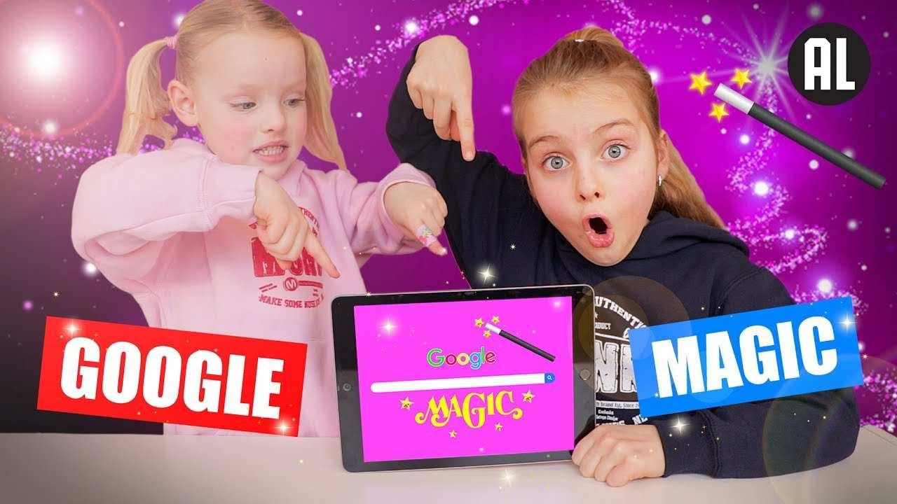 De Zoete Zusjes En Google Magic Film Dezoetezusjes Youtube
