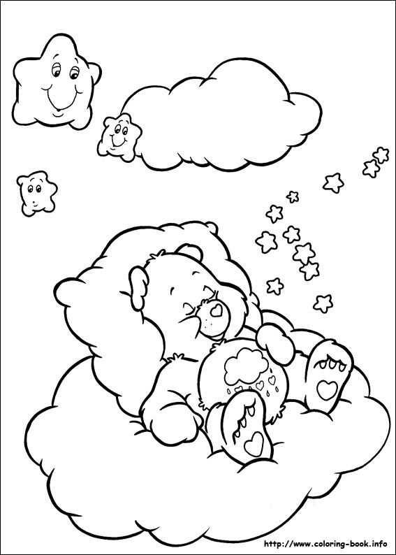 The Care Bears Coloring Picture Kleurplaten Beertjes