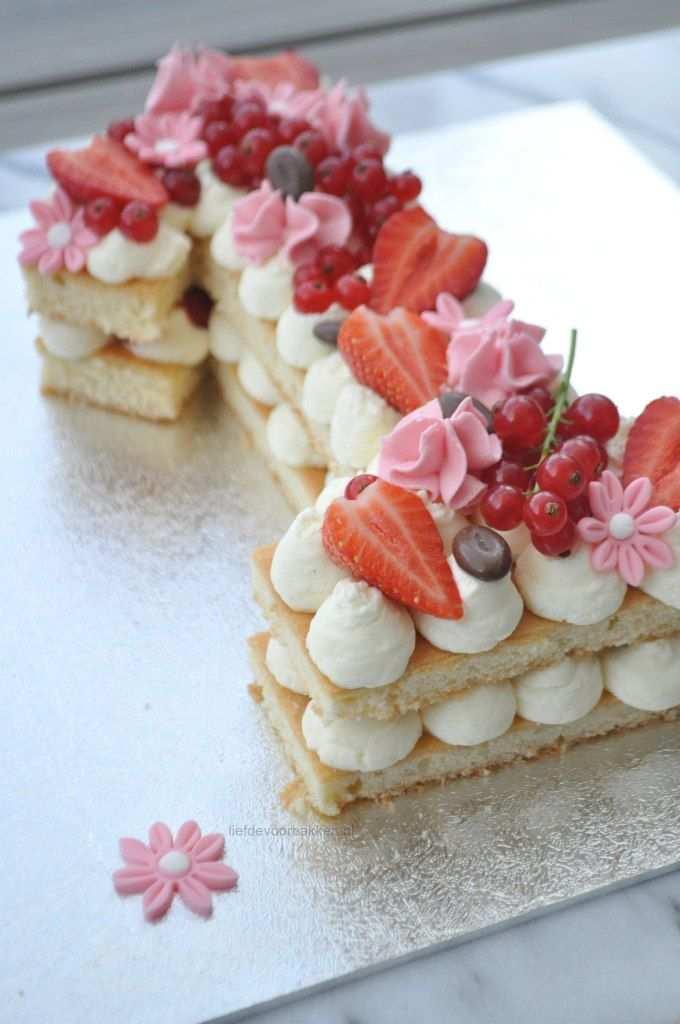 Hoe Maak Je Een Cijfertaart Cupcake Cake Kinderen Bakken