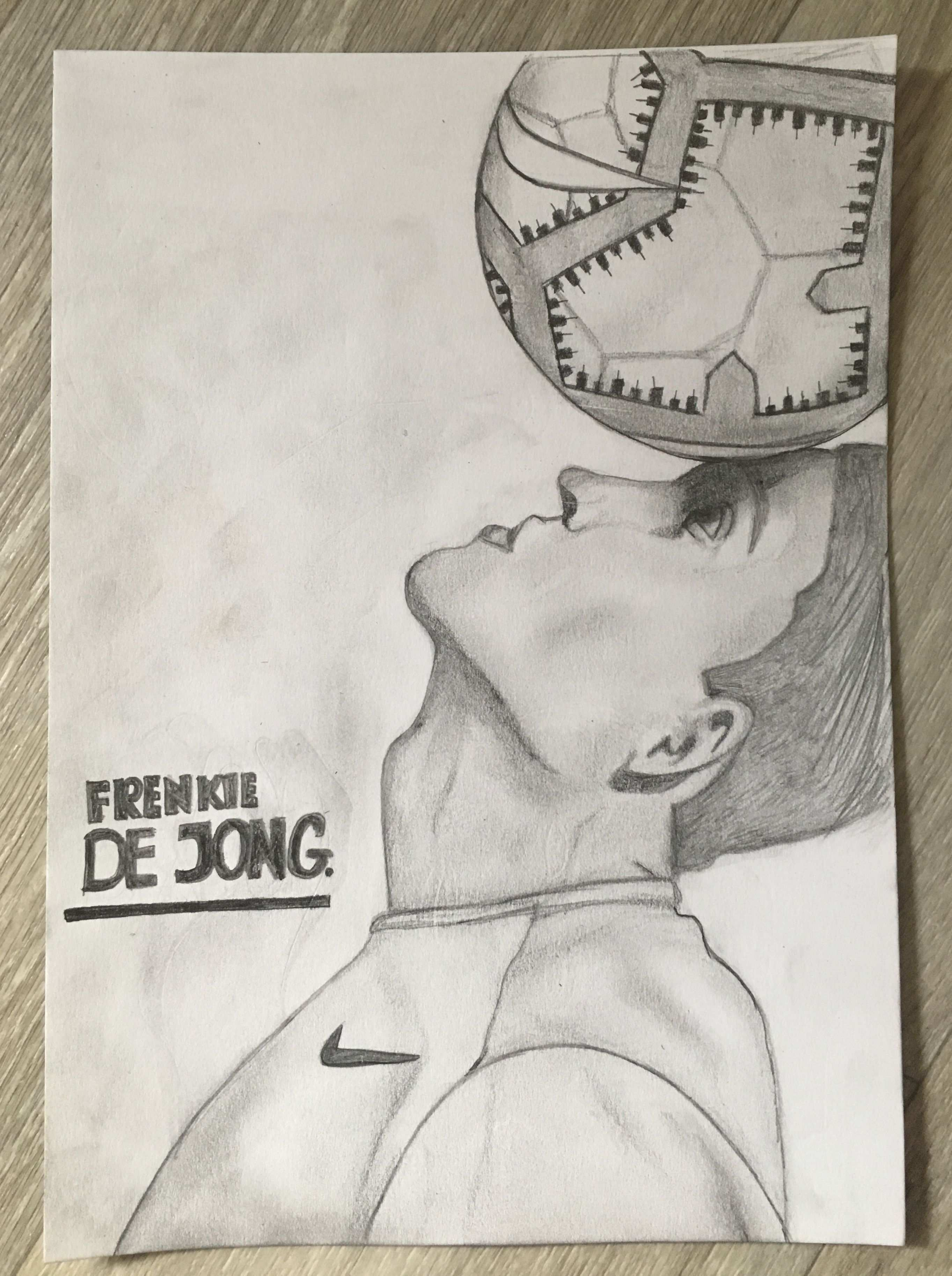 This Is Frenkie De Jong He Is A Football Player From Ajax And