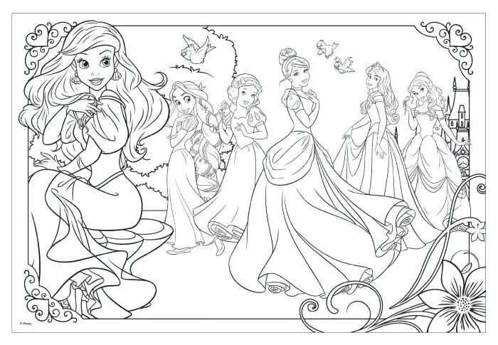 Afbeeldingsresultaat Voor Kleurplaat Disney Prinses Disney