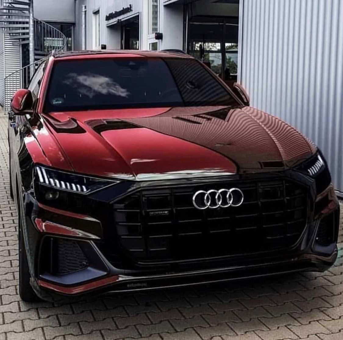Kleurplaat Auto Audi Q8