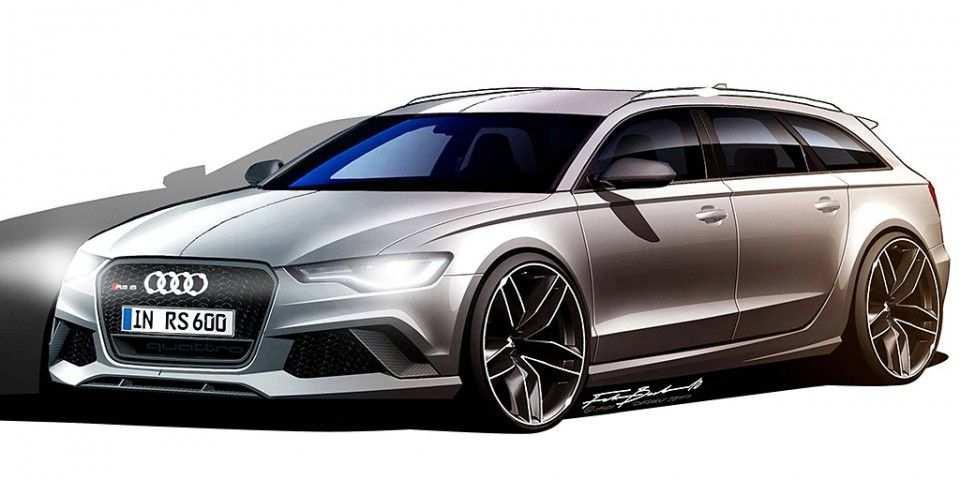 Audi Design Team Releases Photos Of New Rs 6 Avant Audi Rs6 Car