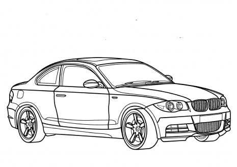 Coloring Pages For Boys Cars Bmw Kleurplaten Thema
