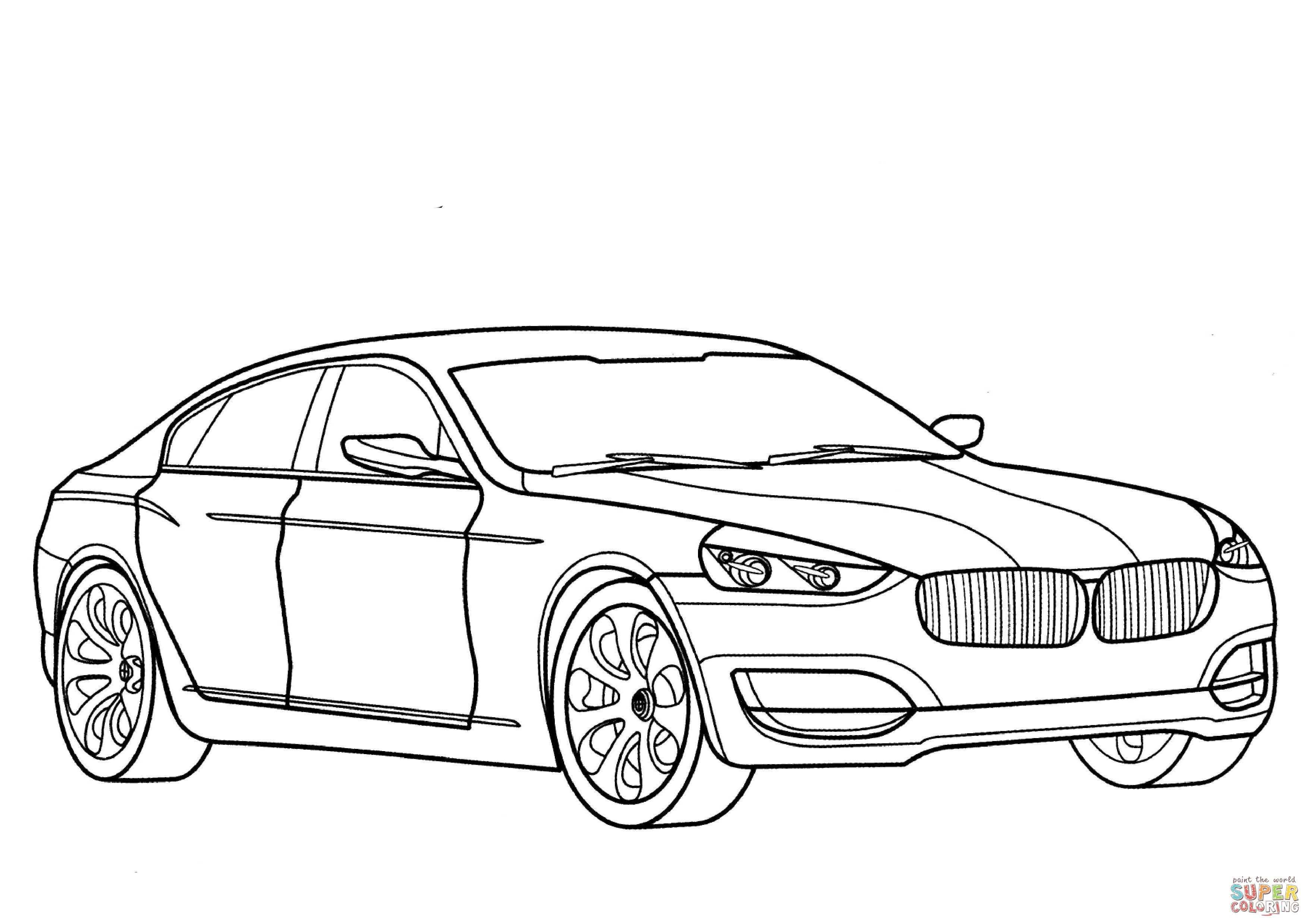 Bmw 3 Series Gt Coloring Page Free Printable Coloring Pages