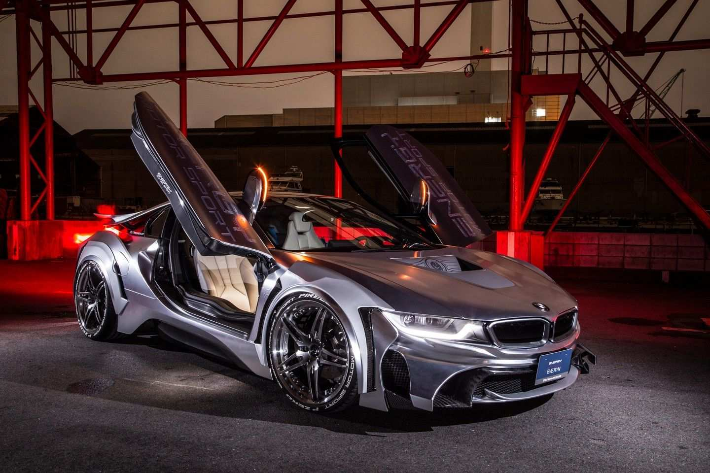 Bmw I8 Tuned By Energy Motor Sport Takes Us Back To The Future