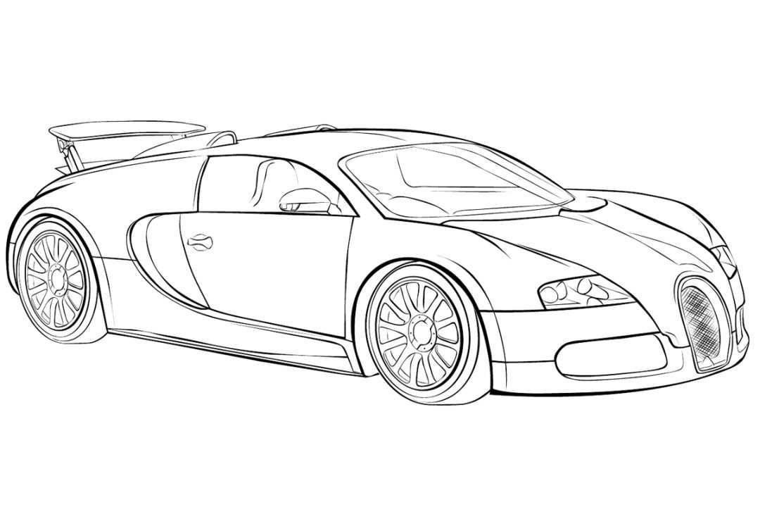 Bugatti Chiron Ausmalbilder 472 Malvorlage Autos Ausmalbilder