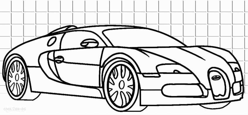 Bugatti Chiron Coloring Page Lovely Kleurplaat Auto Bugatti In