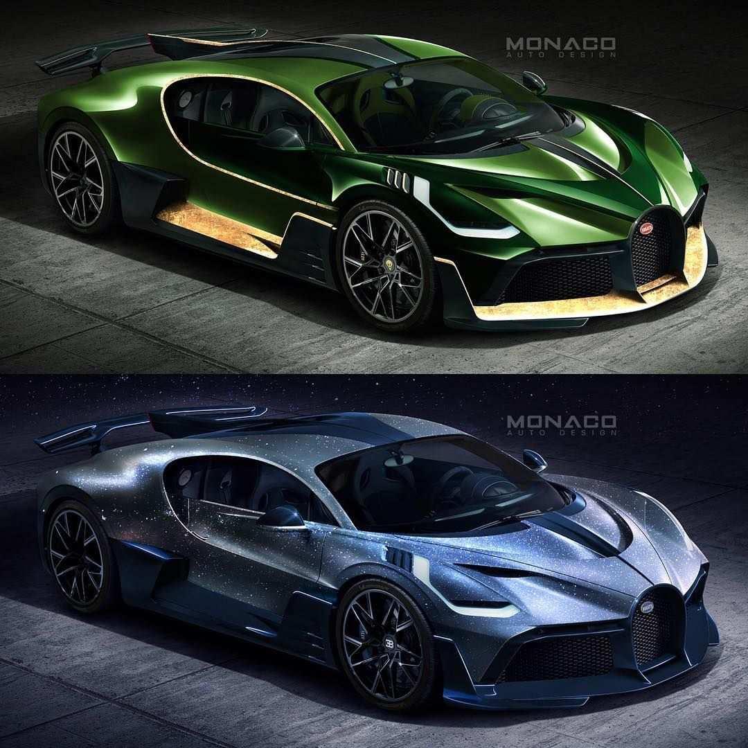 Kleurplaat Auto Bugatti Divo