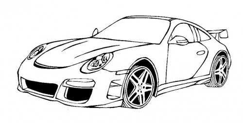 Auto Coloring Lamborghini Cars Coloring 1 Drawing With Images