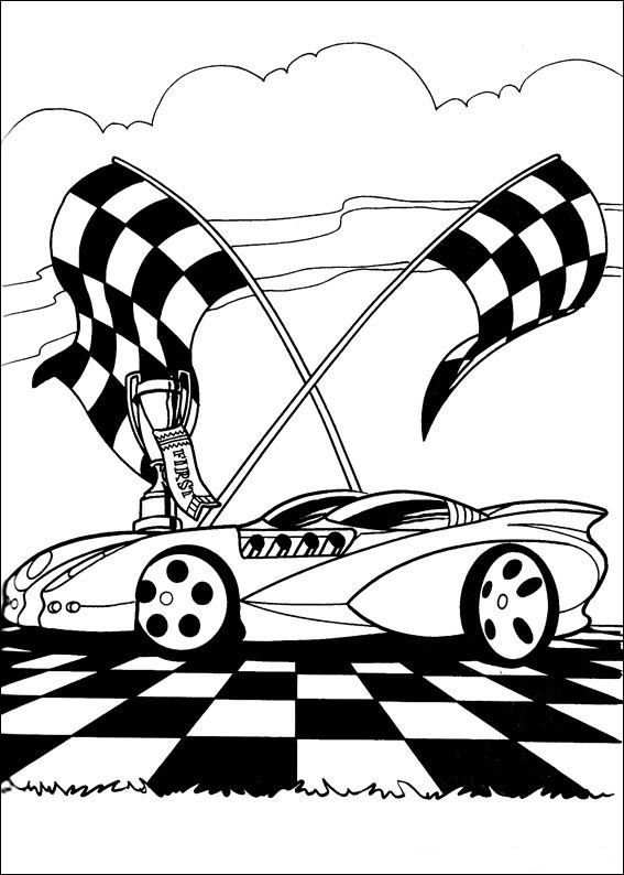 Kleurplaten Hot Wheels 3 Coloring Pages Hot Wheels Cars